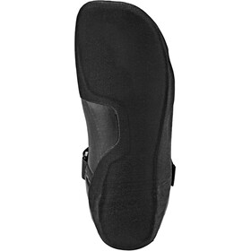 Quiksilver 3mm Syncro Round Toe Surf Booties Hombre, black